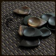 African Ebony Guitar Pick Collection | Timber Tones